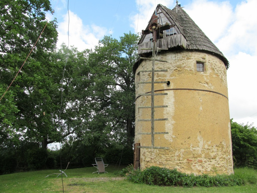 300-year old Windmill in France
