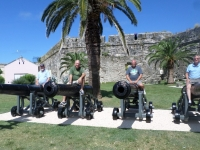 The Big Guns:  George K3GP, Ray ND8L, Jamie WW3S, and Larry K8UT